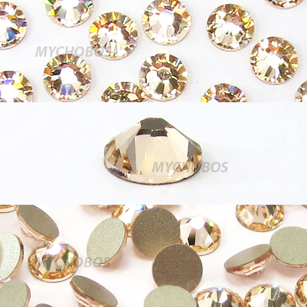e5a1a8436 Details about 1440 Swarovski 2088 12ss wholesale crystal flatback  rhinestones ss12 SILK (391)