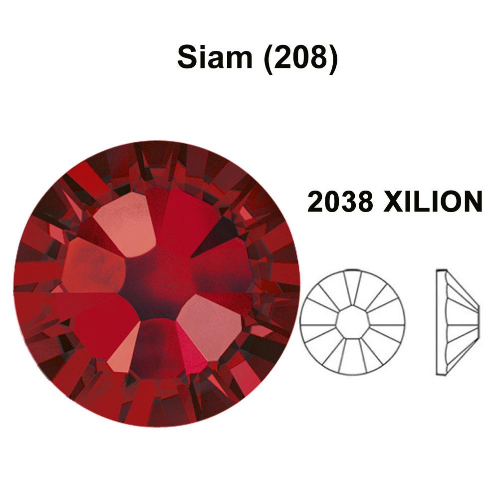 FIREOPAL 237 orange Genuine Swarovski 2038//2078 HOTFIX iron-on Flatback *pick