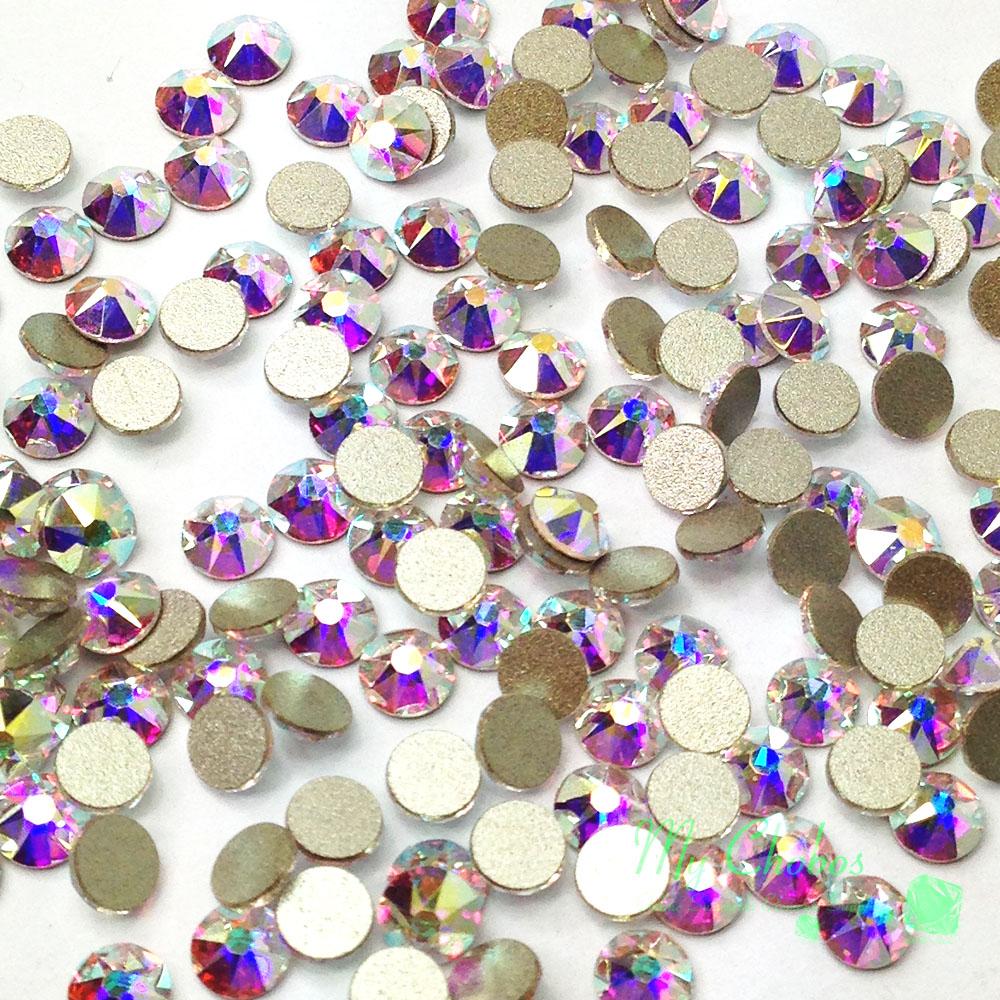 1440 Swarovski 2058 2088 Flatback Rhinestones Crystal Wholesale nail art  U  Pick  2ab58cf09c29