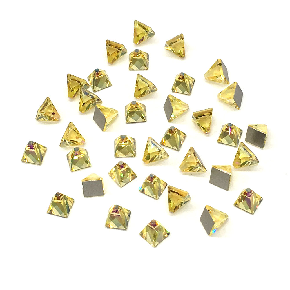 2000 2038 /& 2078 Swarovski® Hotfix Crystals Flatback Light Colorado Topaz Shimm