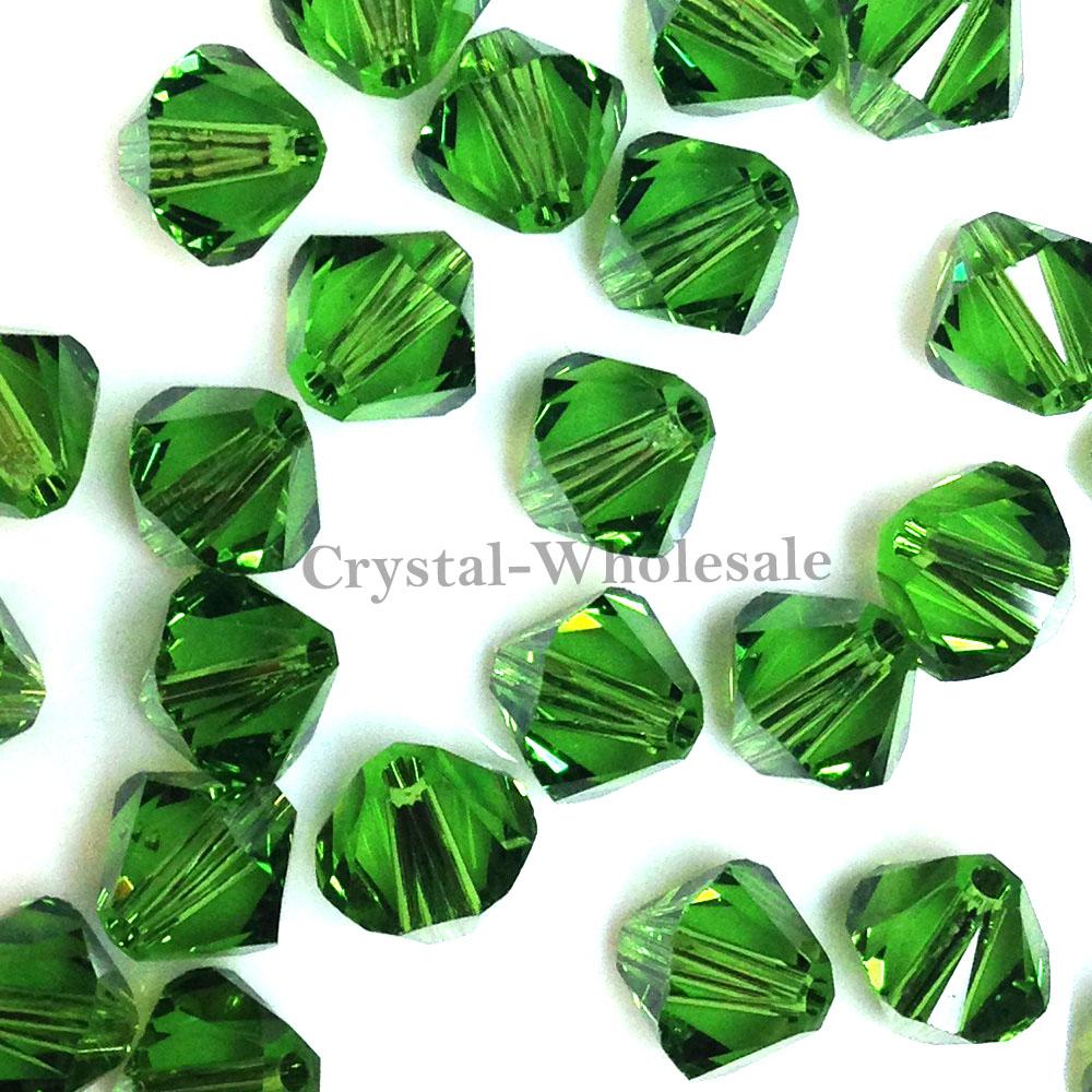 5328 Swarovski® Crystal Bicone Beads Fern Green