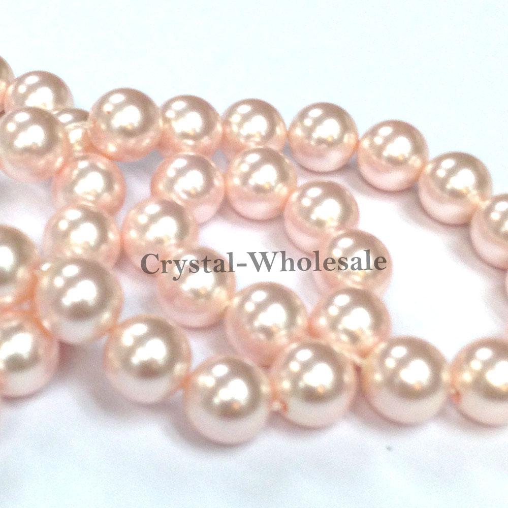 Swarovski Crystal Round Pearls 3mm - 10mm Bordeaux #5810 Beads