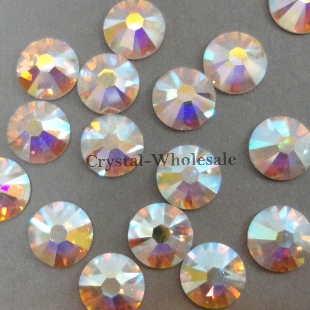 Swarovski 2058 2088 Flatbacks Rhinestones Wholesale Bulk Crystal AB ...