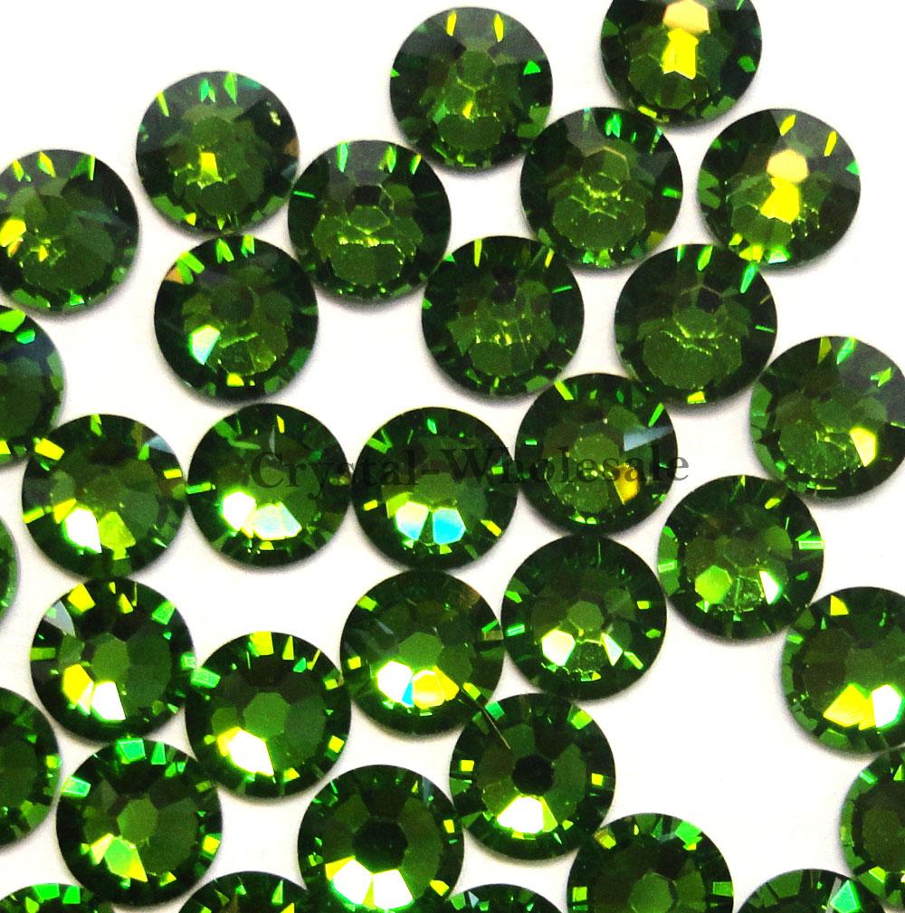 144 Swarovski 2058 7ss crystal flatback No-Hotfix rhinestones 2.2mm ss7 [ E-O ]